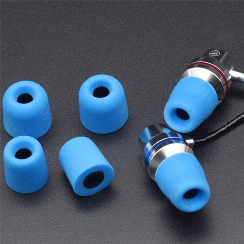 10x Noise Cancellation Memory Foam Earbuds Tips Earplug In-Ear Earphones CoB1IS