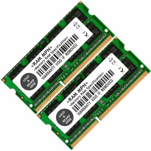 Memory Ram 4 Lenovo 3000 Laptop G400 G470 G500 G570 2x Lot DDR3 SDRAM DDR3