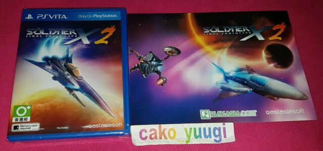 SOLDNER X 2 FINAL PROTOTYPE PS VITA PLAY-ASIA.COM EXCLUSIVE NEUF NEW 3000 EX