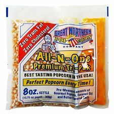 Great Northern Popcorn 1 Case (40) Of 8 Ounce Popcorn Portion Packs Kit Cinema