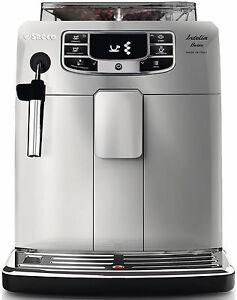 saeco intelia bella hd8900 11 kaffeevollautomat mit kaffee filter neu ovp ebay. Black Bedroom Furniture Sets. Home Design Ideas