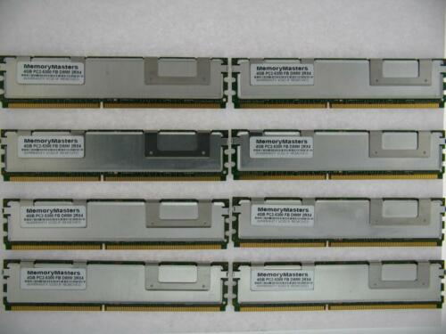 32GB KIT 8X4GB HP Hewlett Packard Workstation xw8400 xw8600 FBDIMM RAM MEMORY