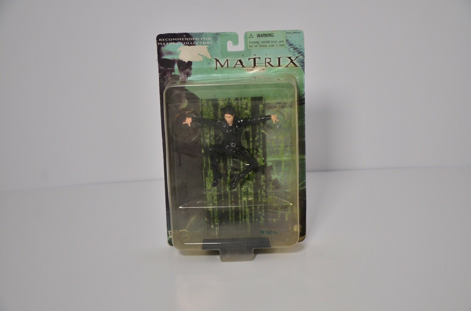 THE THE THE MATRIX  THE FILM  ACTION FIGURES  SENTINEL MR. ANDERSON TRINITY 063a74