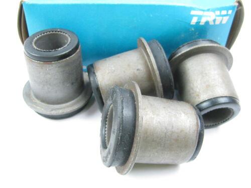 4 TRW 12280 FRONT UPPER Suspension Control Arm Bushings