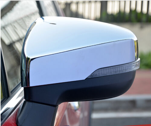 fits Subaru Forester SK 2019 ABS Chrome Rearview Mirror Side Cover Molding Trim