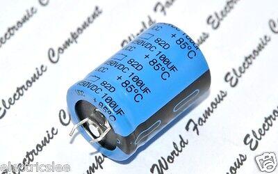 Capacitors CAP ALU ELEC 100UF 450V SNAP-IN Aluminium Electrolytic