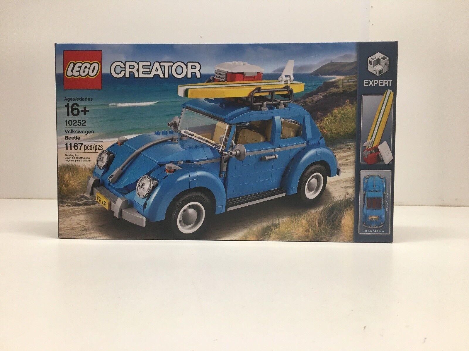 NEW NIB NIB NIB LEGO Creator 10252 Volkswagen Beetle NISB Factory Sealed NIB 4949bf