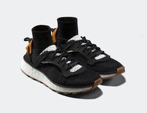 adidas originali alexander wang - nero / bianco / gomme run cm78275 nuova