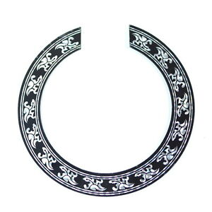 acoustic guitar soundhole ring decal sticker self adhesive for small 39 740781971693 ebay. Black Bedroom Furniture Sets. Home Design Ideas