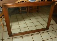 Solid Oak Mirror  (MR14)