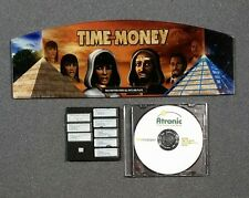 Atronic eMotion TIME FOR MONEY Plexi Glass & Software Set W/ Security Chip