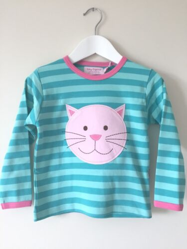 New Toby Tiger Long Sleeve T Shirt with Cat Applique 6-12mths 1-2 /&  2-3 yrs