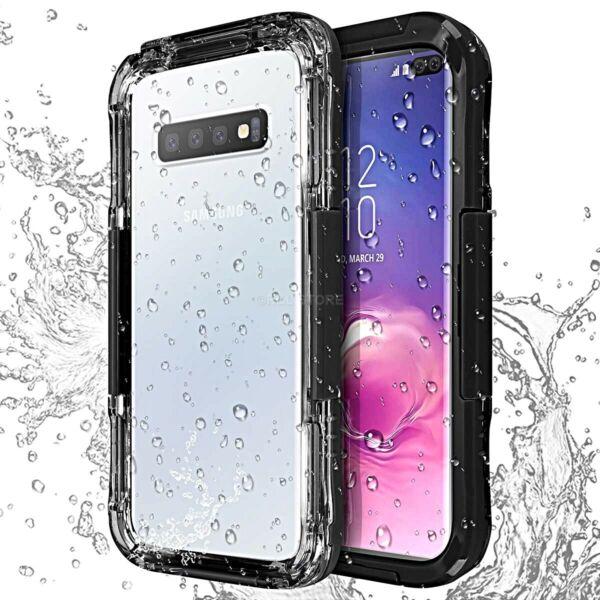 Coque Pour Samsung Galaxy S9 S10 S10e / Plus Sous-marine Waterproof Étanche