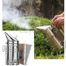 Bee Hive Smoker Stainless Steel with Heat Shield Calming Beekeeping Equipment