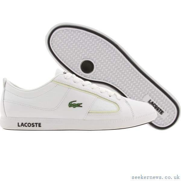 6e749221e9ec7a Lacoste Men s Observe II S1 Leather Leather Leather Sneakers Size 10 NEW  9727ae ...
