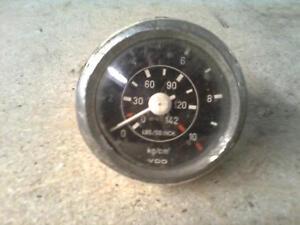Mercedes-Benz-LKW-Oldruckanzeige-VDO-kg-cm