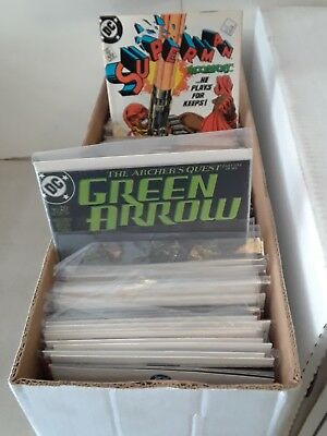 Comic Book Longbox Marvel and DC ONLY NO Indy Comics 300 CLOSEOUT Grab Bag Box