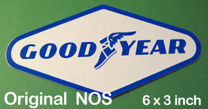 NOS-Original-Vintage-Good-Year-Tires-Sticker-Decal-SCCA-Racing-Tire