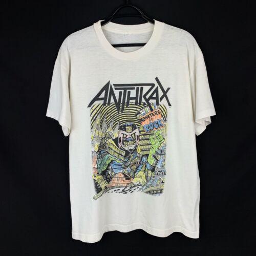 Vintage 1988 Anthrax Monster of Rock Tee T - Shirt