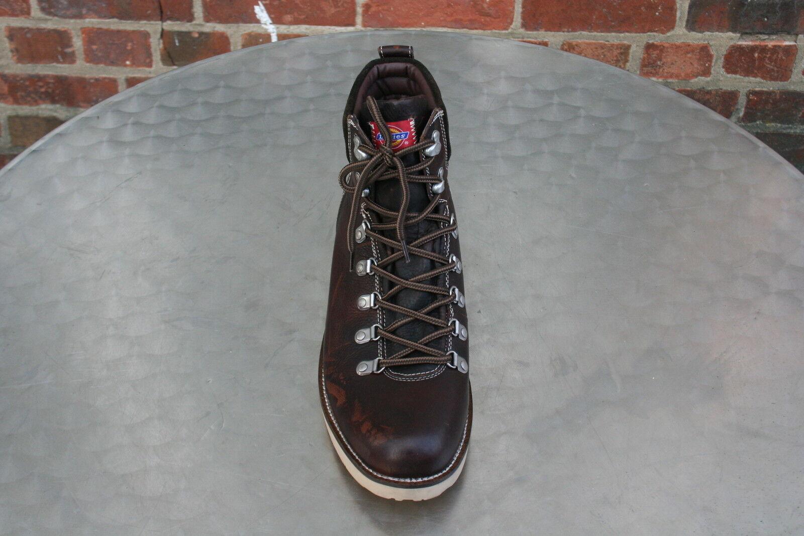 new product 91823 ce071 ... Dickies Stiefel halbhoch dunkel braun Gr.46 Leder Man Boots Man  -ungetragen- 3c68e5 ...