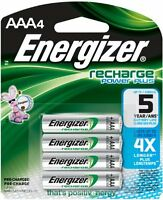 Energizer Aaa Rechargeable Batteries 4 Pack on Sale