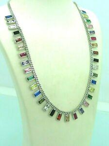 Turkish-Handmade-Jewelry-925-Sterling-Silver-Sapphire-Stone-Women-Necklace