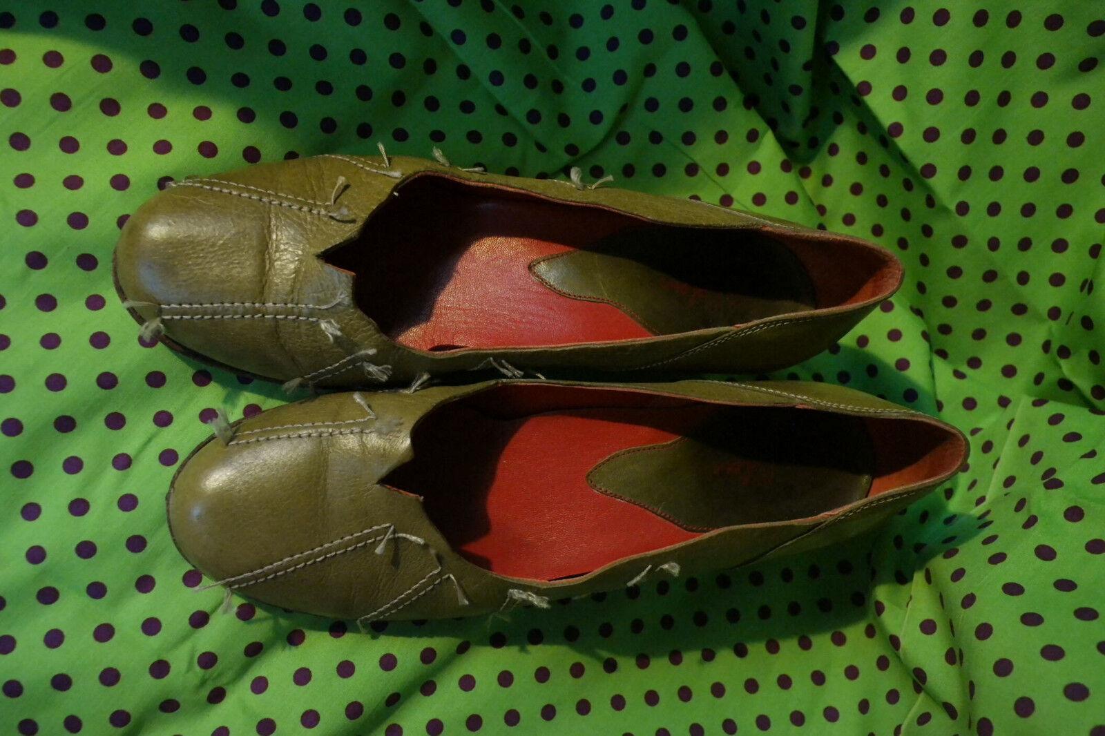 Schuhe Colour Pum, kaki,Schuhe Colour,super Zustand,kaki,Gr. 40 40 40 (40,5-41),Designer 63869c