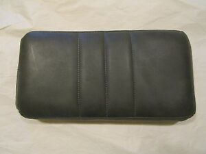 C3-Corvette-Leather-Arm-Rest-Gray-New-1963-1977