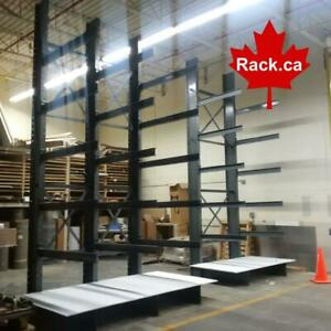 Large stock of in-house cantilever racking for quickship to Kitchener Area Kitchener Area Preview