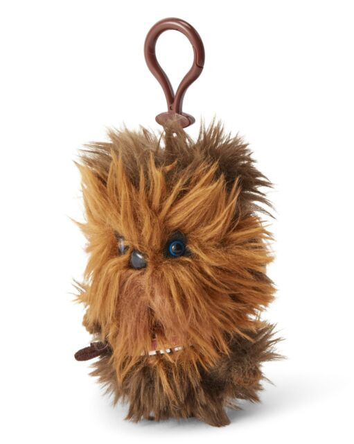 "Star Wars Mini 4"" Talking Plush Toy Clip On - Chewbacca"