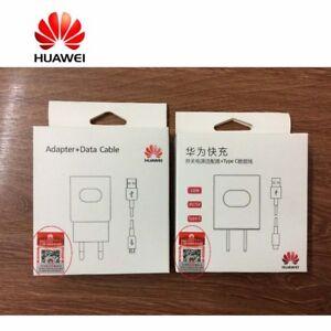 Originale-Huawei-Per-P20-Pro-Lite-Carica-Batterie-Caricatore-Veloce-amp-Cavo-USB-C