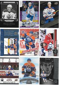 U-PICK-039-EM-LOT-40-Connor-McDavid-Base-RC-Inserts-Parallels-SP-Collection-Cards