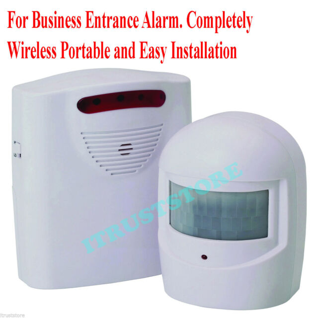 Business Door Entrance Entry Alarm Chime Bell Wireless Motion