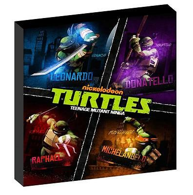 TMNT TEENAGE MUTANT NINJA TURTLES a CANVAS PICTURE