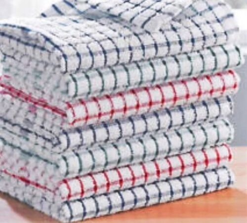 100/% Cotton Tea Towels Set Kitchen Dish Cloths Cleaning Drying