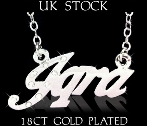 Arabic Name Necklace IQRA 18ct Gold Plated Custom Fashion Jewellery Gifts Eid