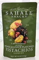 Sahale Snacks Pomegranate Flavored Pistachio Flavored Glazed Mix 4 Oz