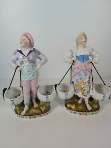 Pair-Conta-amp-Boehme-Germany-Figurines-Appr-23cm-Tall