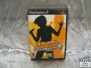 Karaoke Revolution Volume 3 Playstation 2