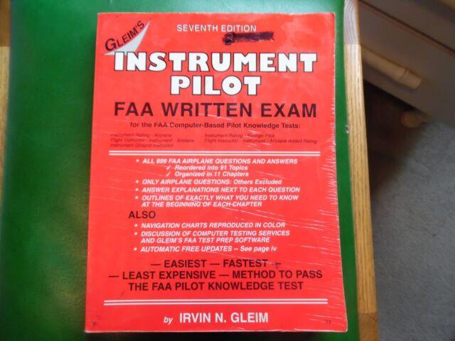 Instrument Pilot FAA Written Exam by Irvin N  Gleim (2000, Paperback)