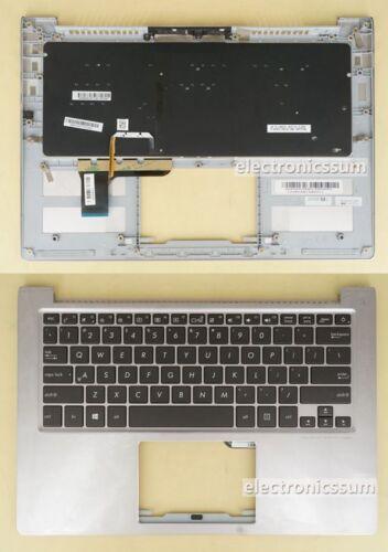 US Keyboard w// Top Palmrest Case for ASUS ZenBook UX303U UX303UA UX303UB Backlit