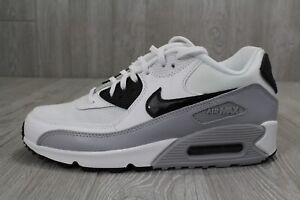 Details about 26 Nike Air Max 90 Essential Women's WhiteBlackGrey Shoes 616730 111 Sz 9 9.5