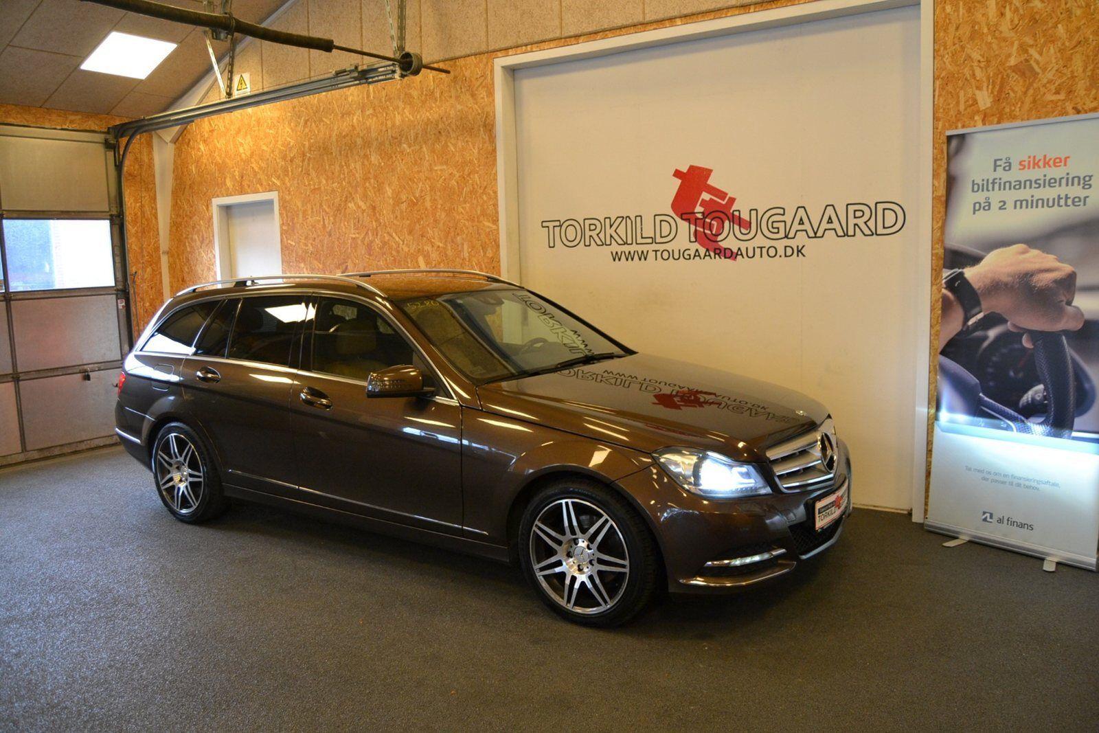 Mercedes C250 2,2 CDi Avantgarde stc. aut. BE 5d - 259.800 kr.