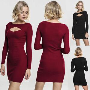 Urban Classics Damen Ladies Cut Out Dress Kleid