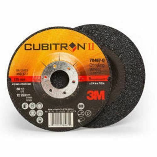 "3M 78467-Q  Cubitron II Depressed Center Grinding Wheel qty-10 5/"" x 1//4/"" x 7//8/"""