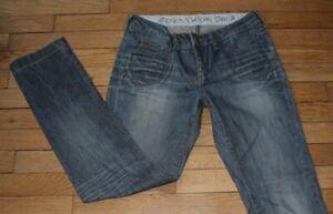 ESPRIT-Jeans-pour-Femme-W-28-L-30-Taille-Fr-38-Ref-J120
