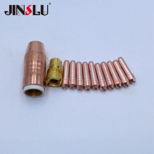 "Nozzle Tip Holder Parts fit  BERNARD N-5818C 5//8/"" BTB MIG Guns Centerfire"
