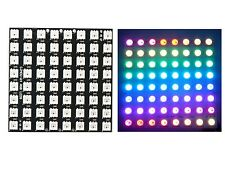 1PCS WS2812B 8x8 64-Bit Full Color 5050 RGB LED Lamp Panel Light for Arduino CA