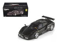 Ferrari Enzo 2003 Monza Test Car Matt Black Elite Edition 1/43 Hotwheels X5511