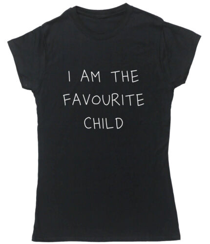 I Am The Favourite Child t-shirt fitted short sleeve womens